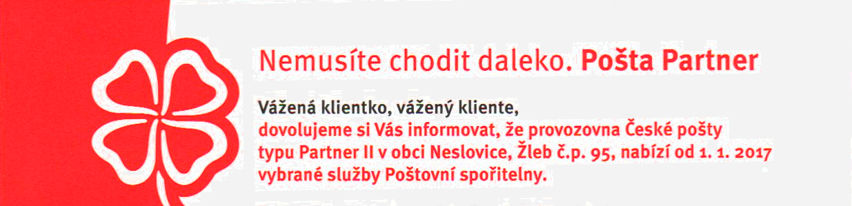 thumb Posta partner Neslovice 2017